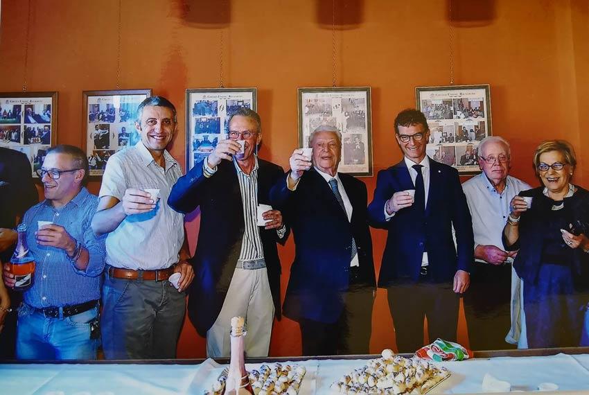 Festa al circolo unione per i 100 anni di vita del socio Avvovato Luigi Burruano