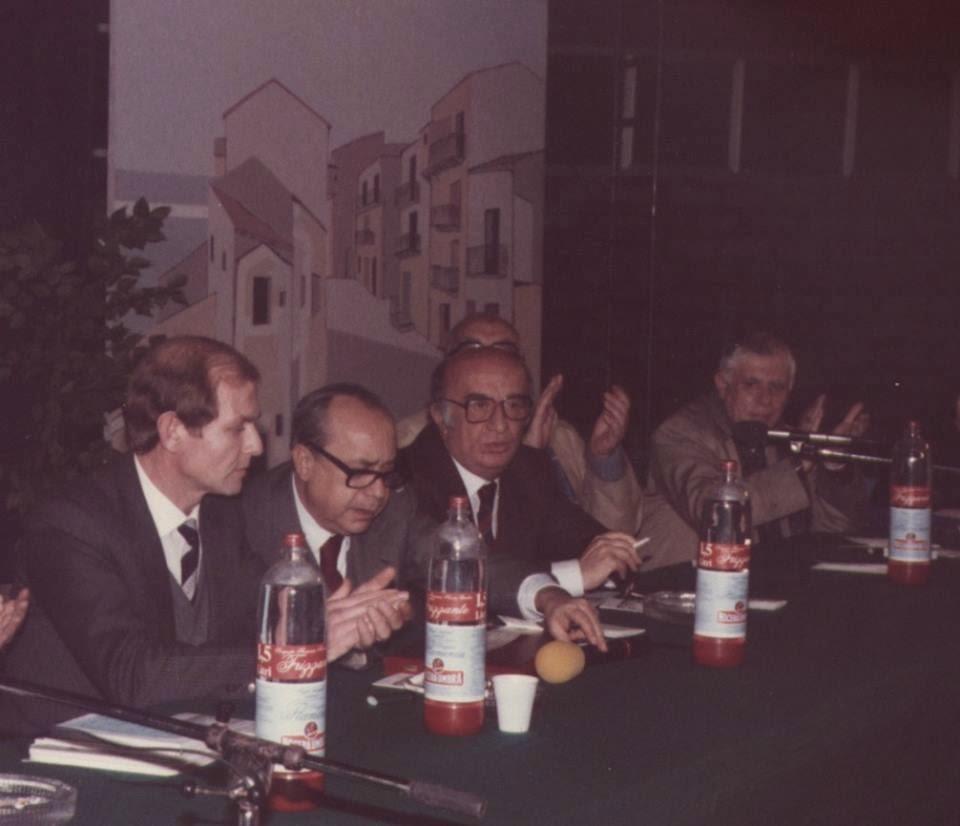 Leonardo Sciascia - Portoempedocle 1987 - Foto: Carlo Puleo